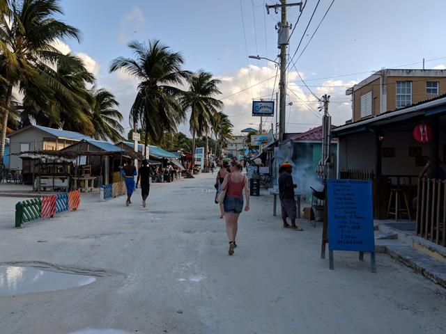 Front Street, Caye Caulker, Belize