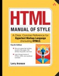 HTML5 Manual of Style cover